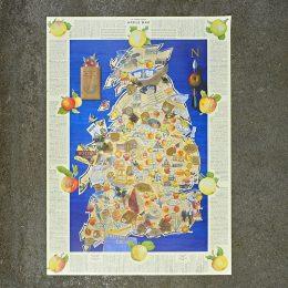 CommonGroundProducts_Apple_Map Poster