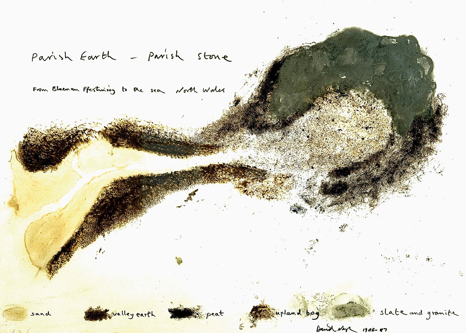 Parish Earth - Parish Stone (North Wales) by David Nash 1986-87 copy
